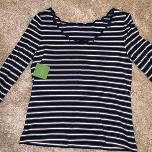 Kate Spade blouse striped
